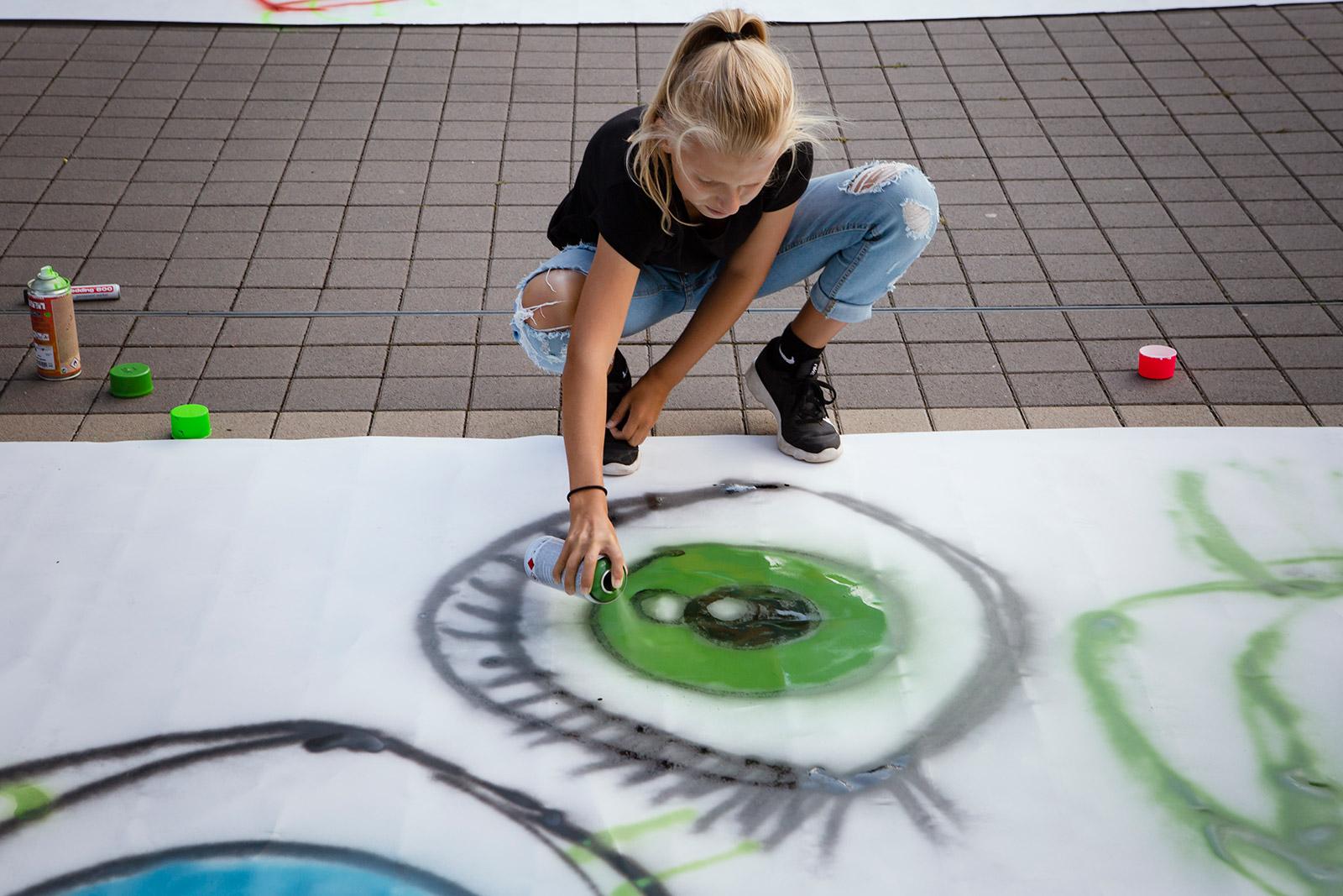 Graffitiaugen
