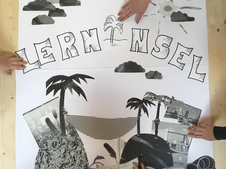 """Gestaltung des Logos der """"Lerninsel"""""""